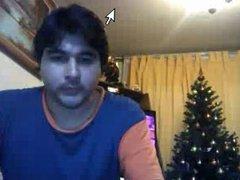 Straight guys feet on webcam #251