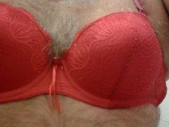 red lingeries jerk