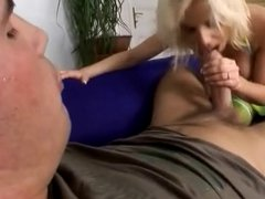Beautiful Tits Blonde gets Anal Fucked