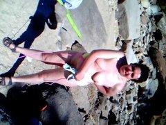 mi gorda desnudandose