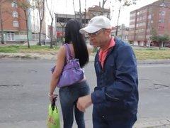 Colombian tranny Anna Bella get fucked hard