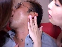 Mature woman two people pussy is ass