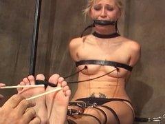 Rene tickled soles