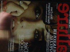 Penelope Cruz Allure Cover Cumshot