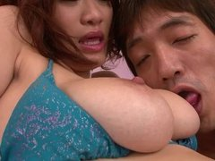 Asian couple do it all! Oral, fingering and doggy style