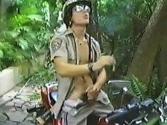 CHP Cop on a Bike