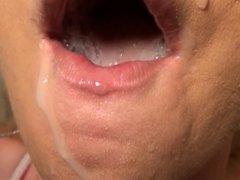 kelly the cum slut 8 bathroom blowjob