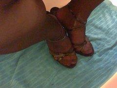 I cum on my feet 2