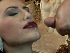 Mela Getting a Sperm Facial - 1