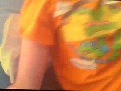 Horny teenage ninja turtles fan masturbates on webcam