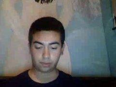 Straight guys feet on webcam #352