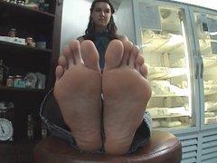 Pretty Girl Big Feet...