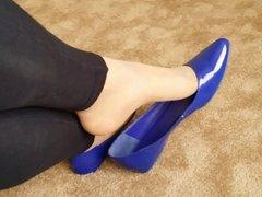 Flats Pantyhose Dangle
