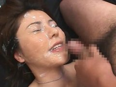 Tanaka Aya - News Reporter Fuck & Cum Shower