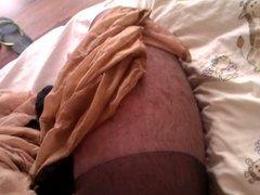 Cum in Wife Pantyhose