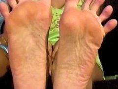 Samantha's Big Feet