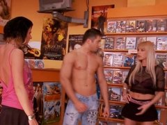 Fucked at DVD rental store.