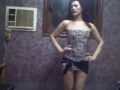 Egyptian crossdresser Ingy dance 08