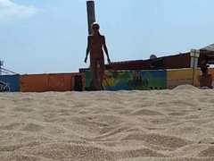 Dani on the  beach 2