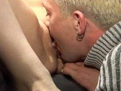 Fun in a sex shop cabin