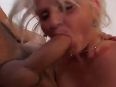 Milf fucked by younger guy