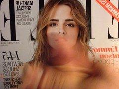 Emma Watson on Elle Cover Cumshot