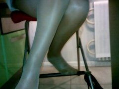heels under the table