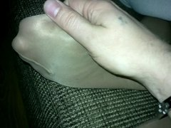footjob pantyhose p1