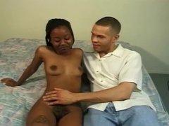 black girl hairy