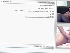 chatroulette - Cumshot For A HoT BBW