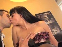 Teen Natacha fucked in a threesome