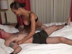 Tickle Fetish Handjob