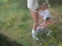 Dogging MILF wife with Stranger.