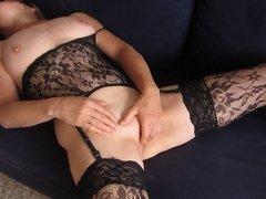 My wife masturbing