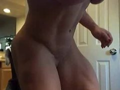 Heather Policky Flexing Glutes & Thighs