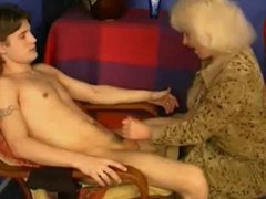 Russian Mom Catches not Son Masturbating WF