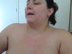 Hot Curvy Amateur BBW Cougar Smoking BJ