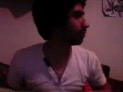 Straight guys feet on webcam #400