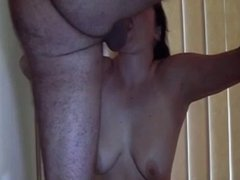Explosive mouthful cumshot
