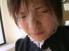 Thick cum tears for japanese girl