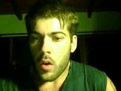 Straight guys feet on webcam #408