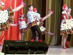Russian Folk Dance. Hot and Horny