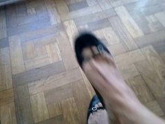 Dangling and deeping my JCrew ballerinas