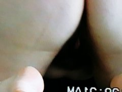 Megan sucking and mounting black cock