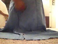 Masturbating in my skirt