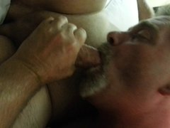 She loves to see cock in my mouth
