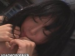 Japanese lesbian sluts enjoy a kinky bondage foursome