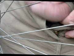 More foreskin torture in wheel 1 of 2