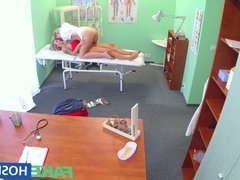 FakeHospital Naughty blonde nurse sexually seduces