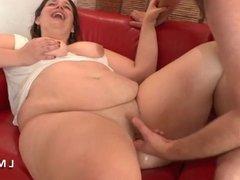 Casting Anal d une grosse cochonne dans La Maison du Sexe